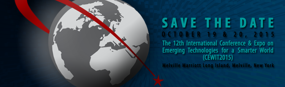 Save the Date: CEWIT2015